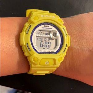 BABY-G  Watch Yellow Casio